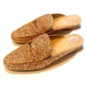 Tory Burch Sequin Slip Ons